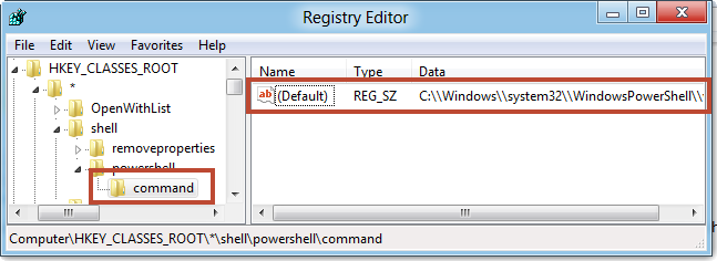 how to create registry key from command line