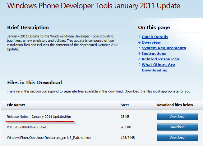 Changing the Default Windows Phone 7 Deployment Target In